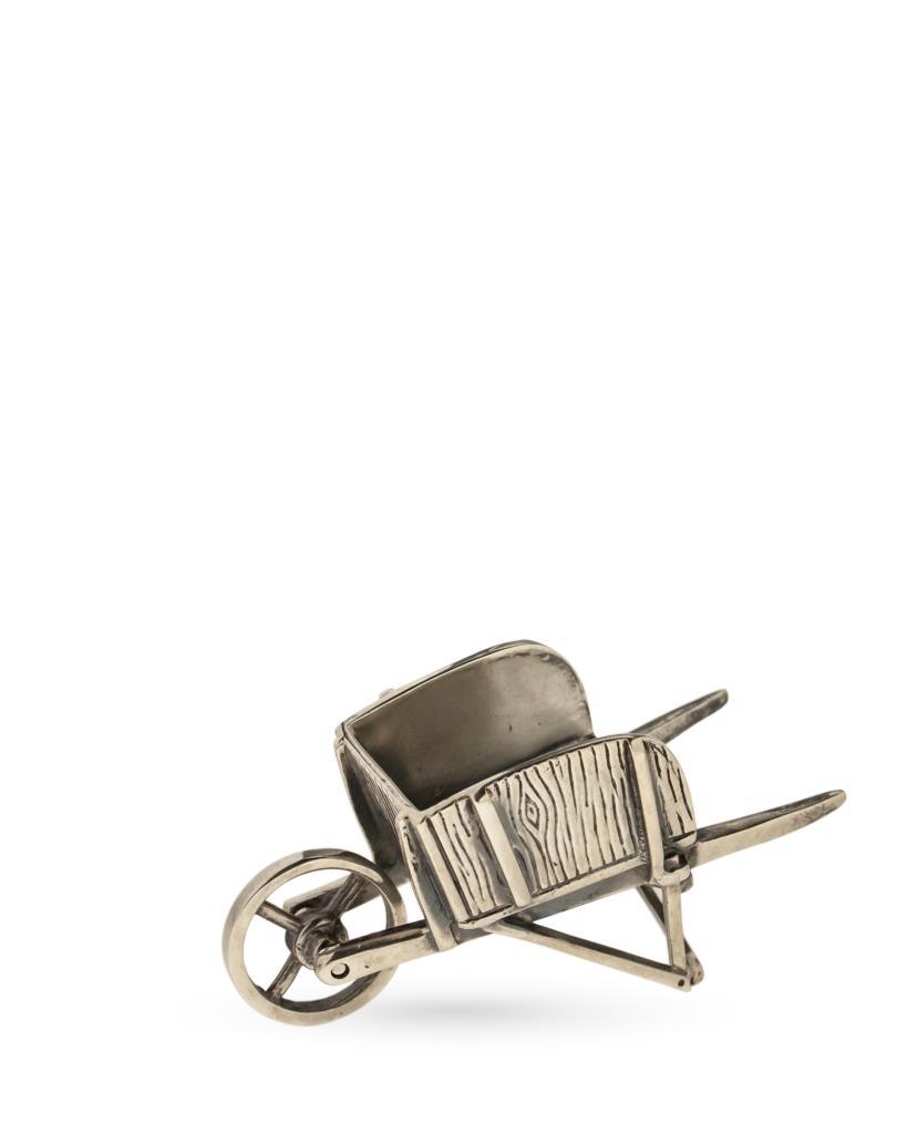 Carriola soprammobile in argento 925 - UNBRANDED