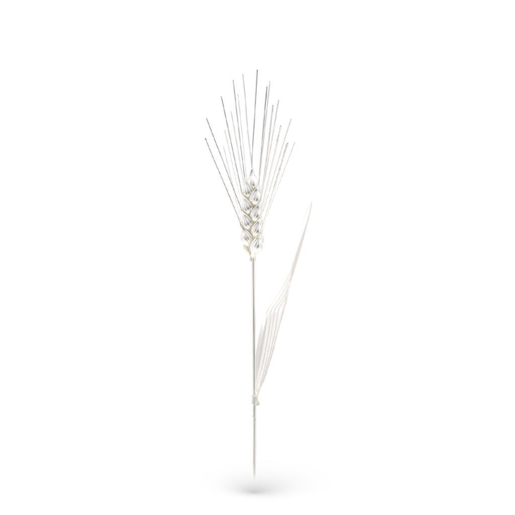 Spiga di grano soprammobile media in argento 23cm - GI.RO'ART