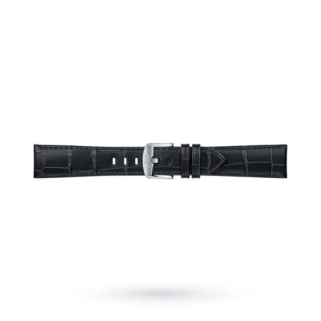 Cinturino orologi Mido pelle stampa coccodrillo nero 21-18mm - MIDO
