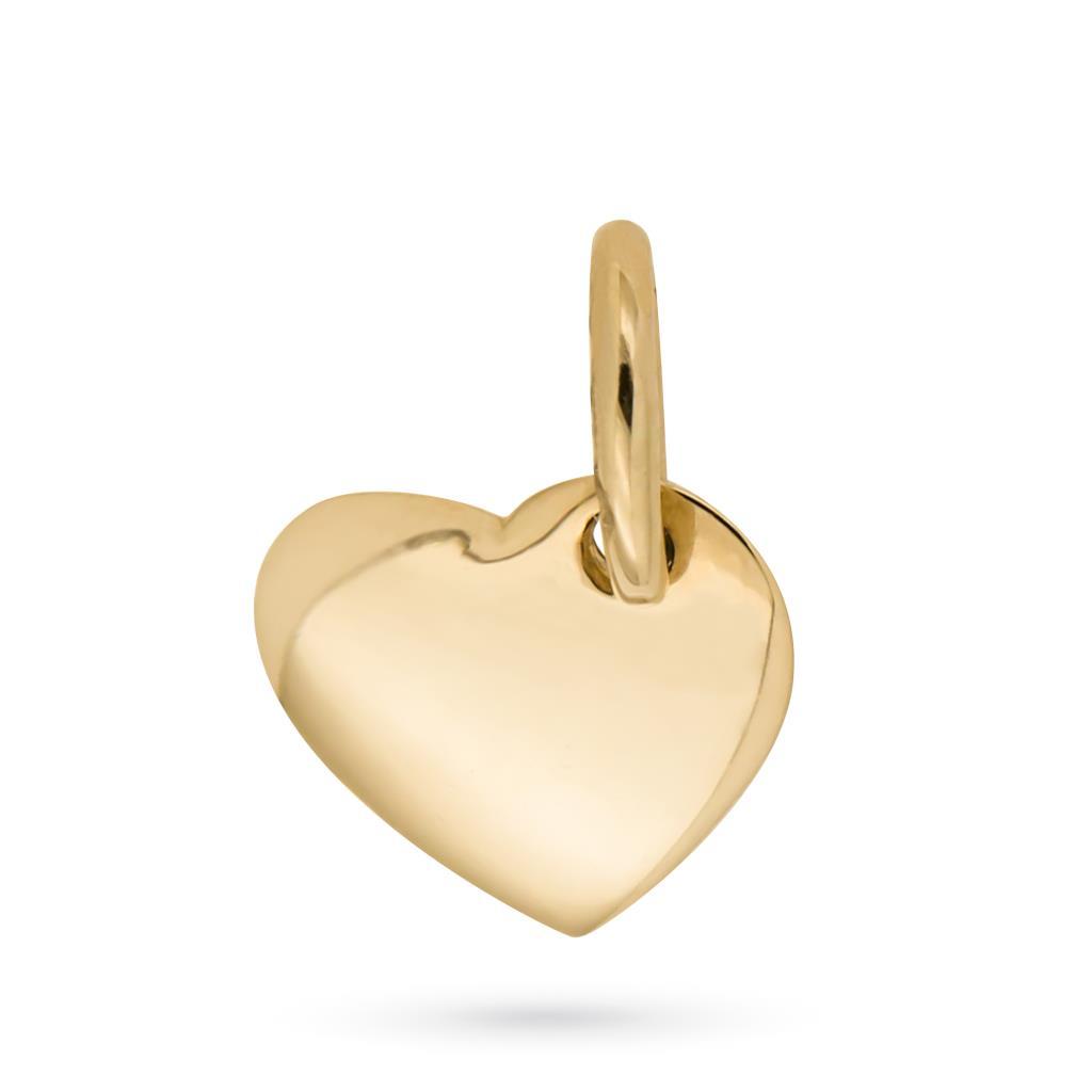 Ciondolo a forma di cuore in oro giallo - CICALA