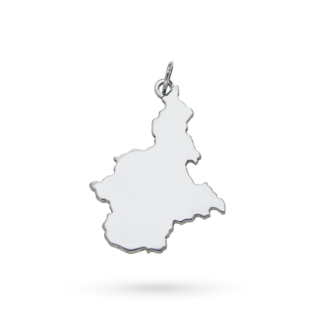 Piemonte region pendant in 925 silver - CICALA