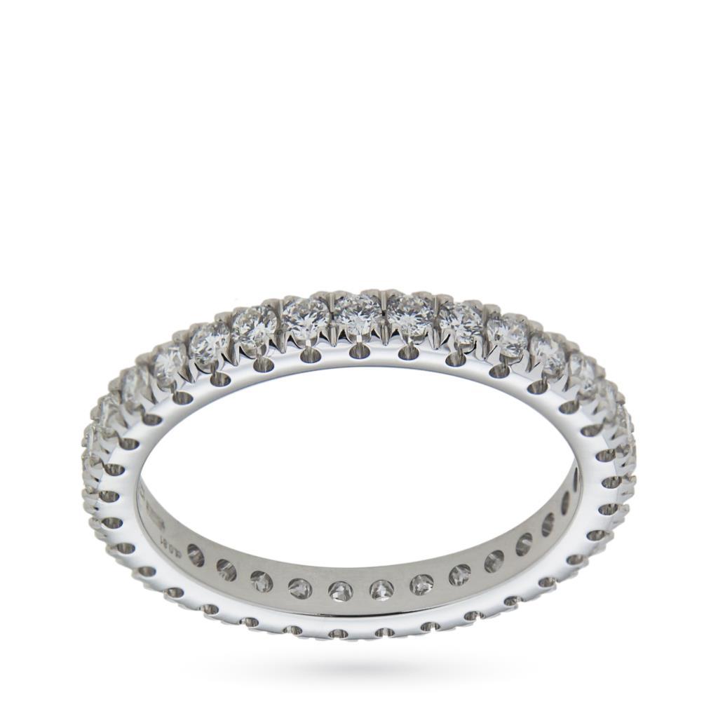 Anello eternity con diamanti ct 0,81 G VS - MIRCO VISCONTI