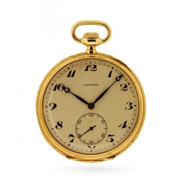 Orologio da tasca Longines 1905 in oro giallo 18kt - LONGINES