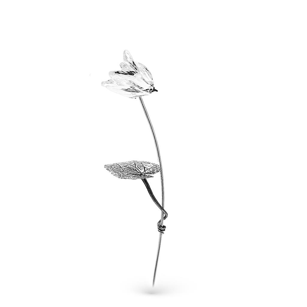 Ciclamino piccolo soprammobile in argento 25,5cm - GI.RO'ART
