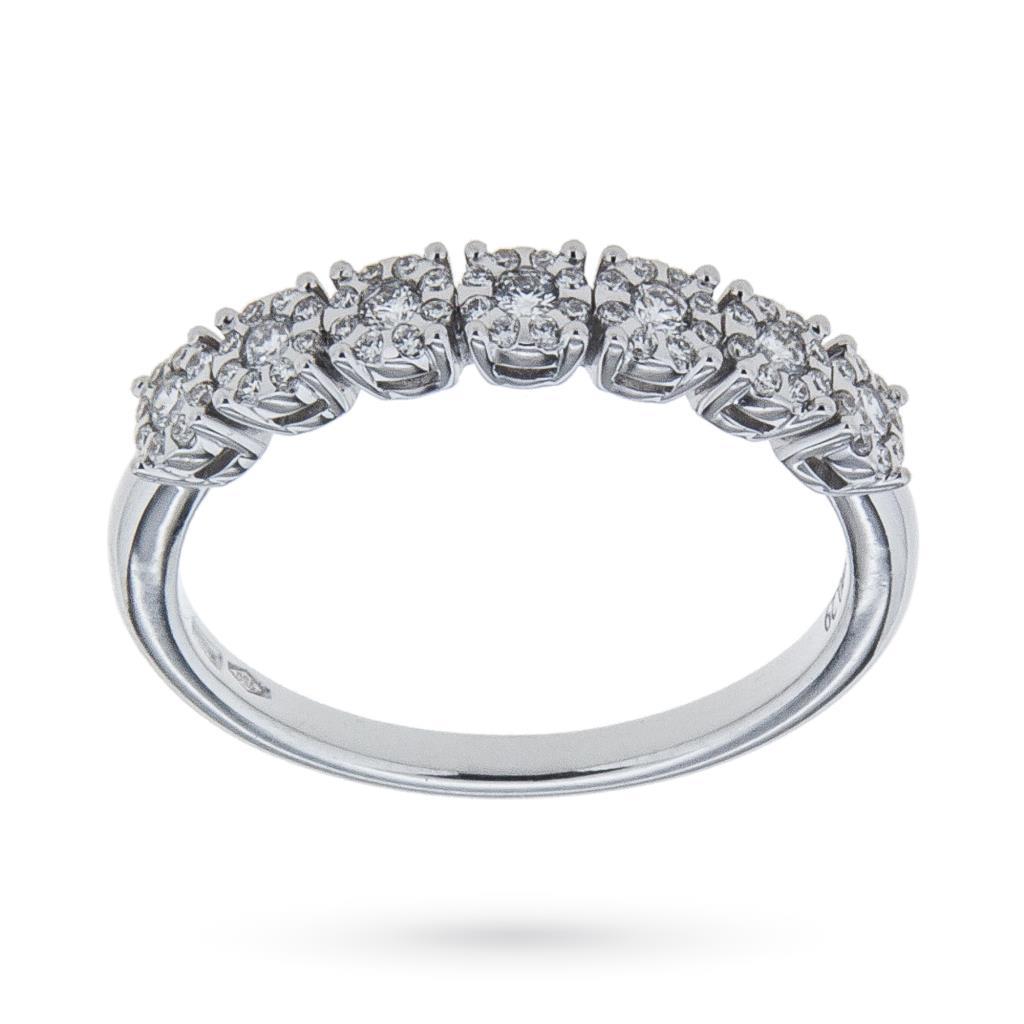 Anello riviere con 7 diamanti ct 0,29 G VS - MIRCO VISCONTI
