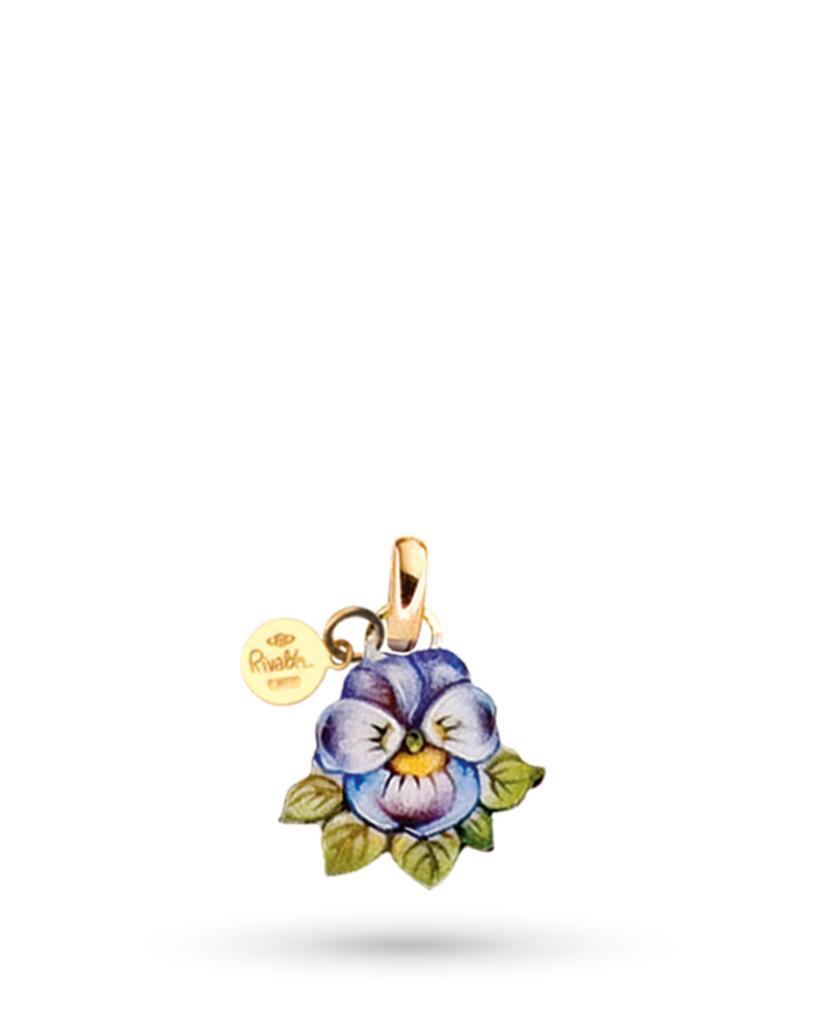 5f12a3eca7 Ciondolo Violetta di Gabriella Rivalta in rame e oro - GABRIELLA RIVALTA