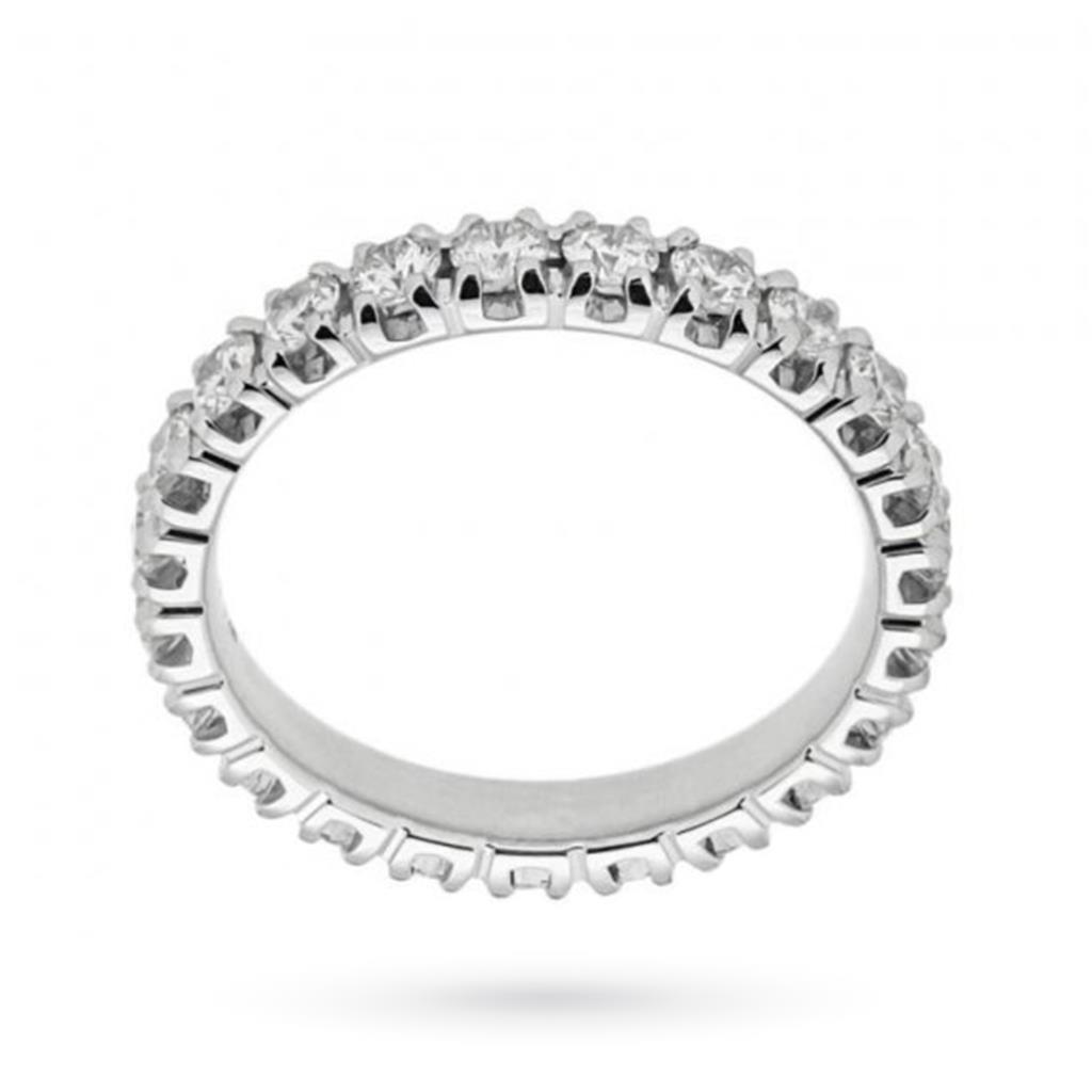 Anello eternity con diamanti ct 1,63 G VS - MIRCO VISCONTI