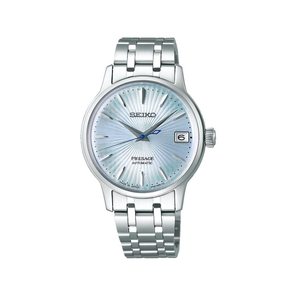 Orologio da donna Seiko Presage 3 sfere automatico azzurro - SEIKO