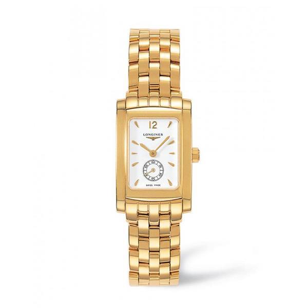 Orologio Longines DolceVita L5.155.6.16.6 in oro giallo  - LONGINES