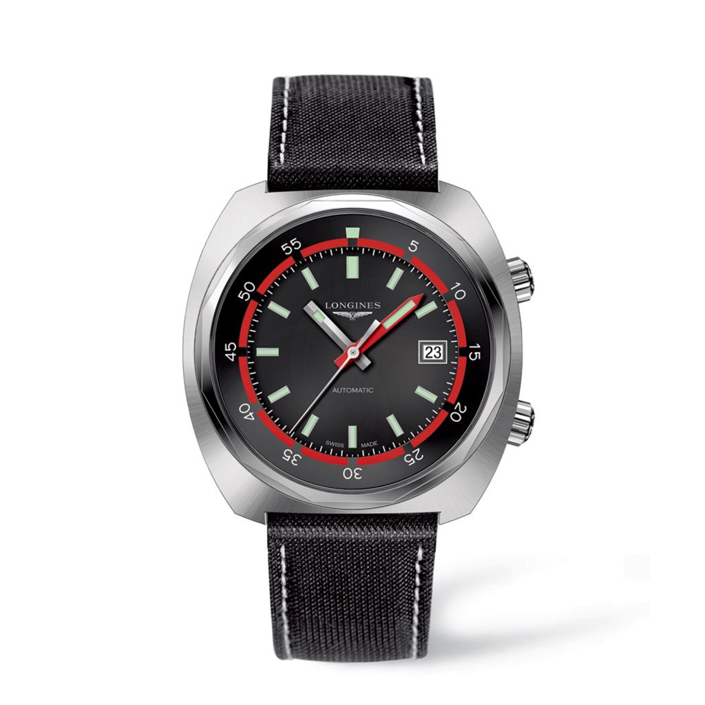 Orologio Longines Heritage Diver solo tempo automatico 43mm - LONGINES