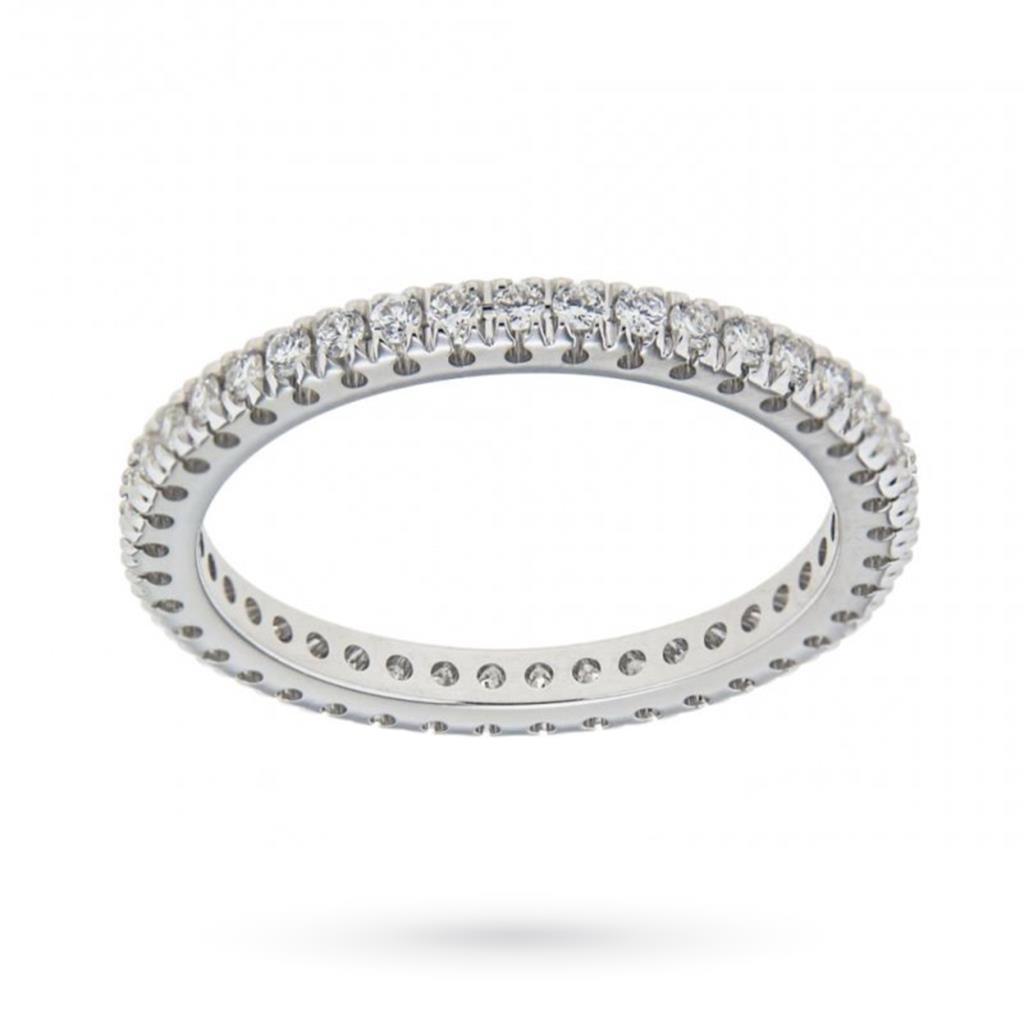 Anello eternity con diamanti ct 0,46 G VS - MIRCO VISCONTI