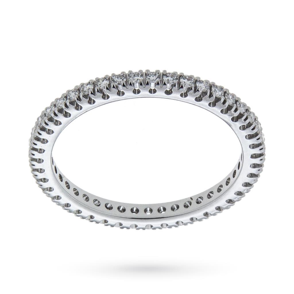 Anello eternity con diamanti ct 0,40 G VS - MIRCO VISCONTI