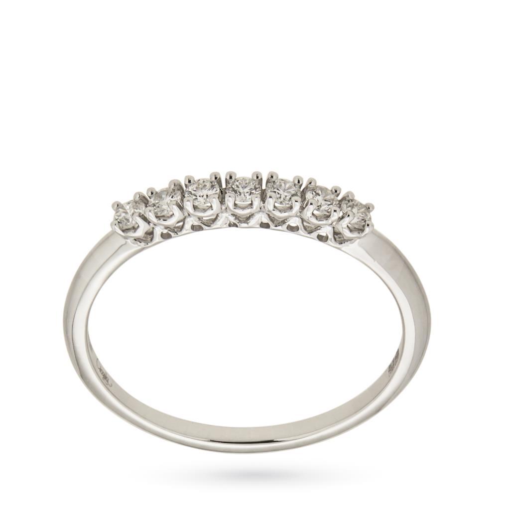 Anello riviere con 7 diamanti ct 0,20 G VS - MIRCO VISCONTI