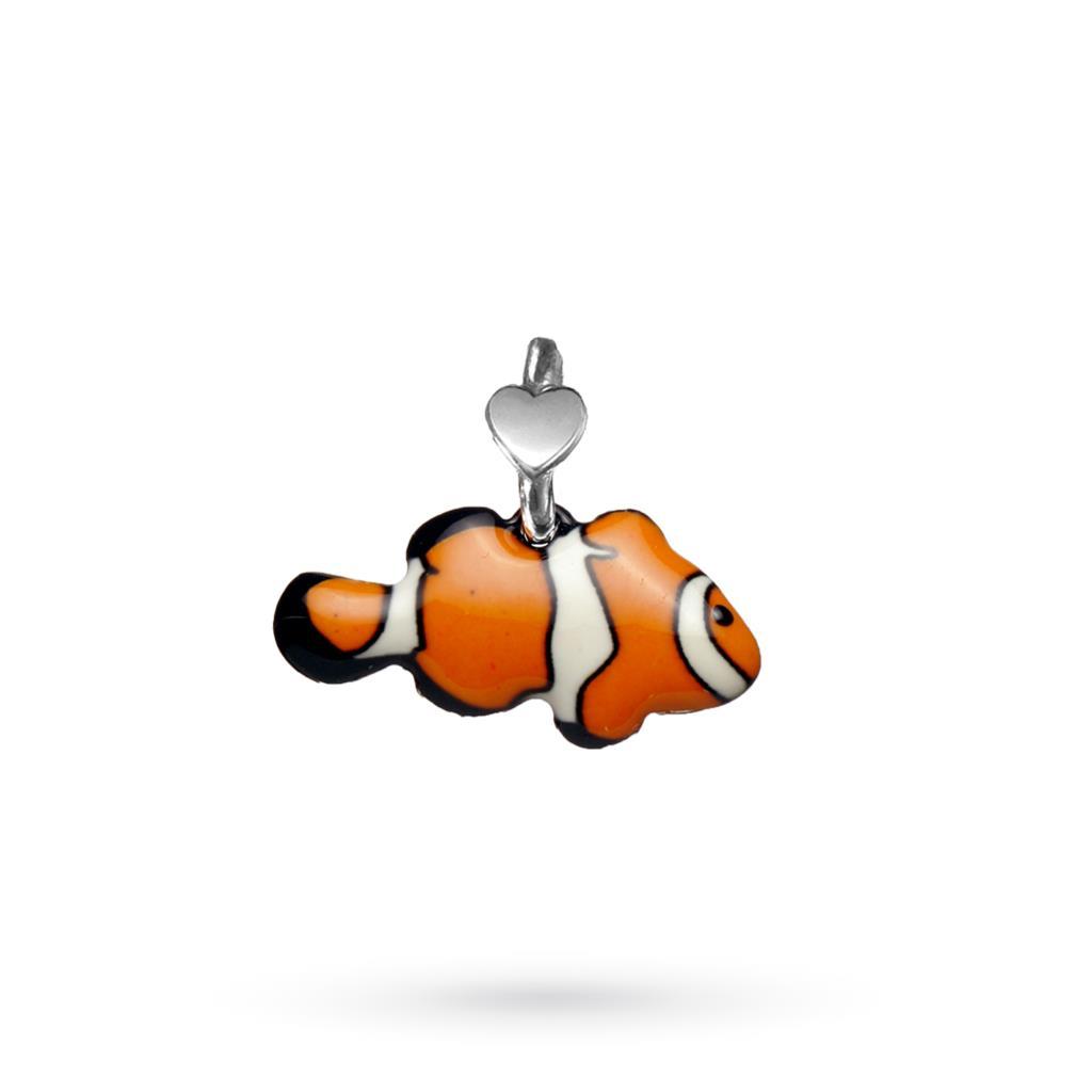 Nemo fish pendant in silver Dodo Mariani - DODO MARIANI