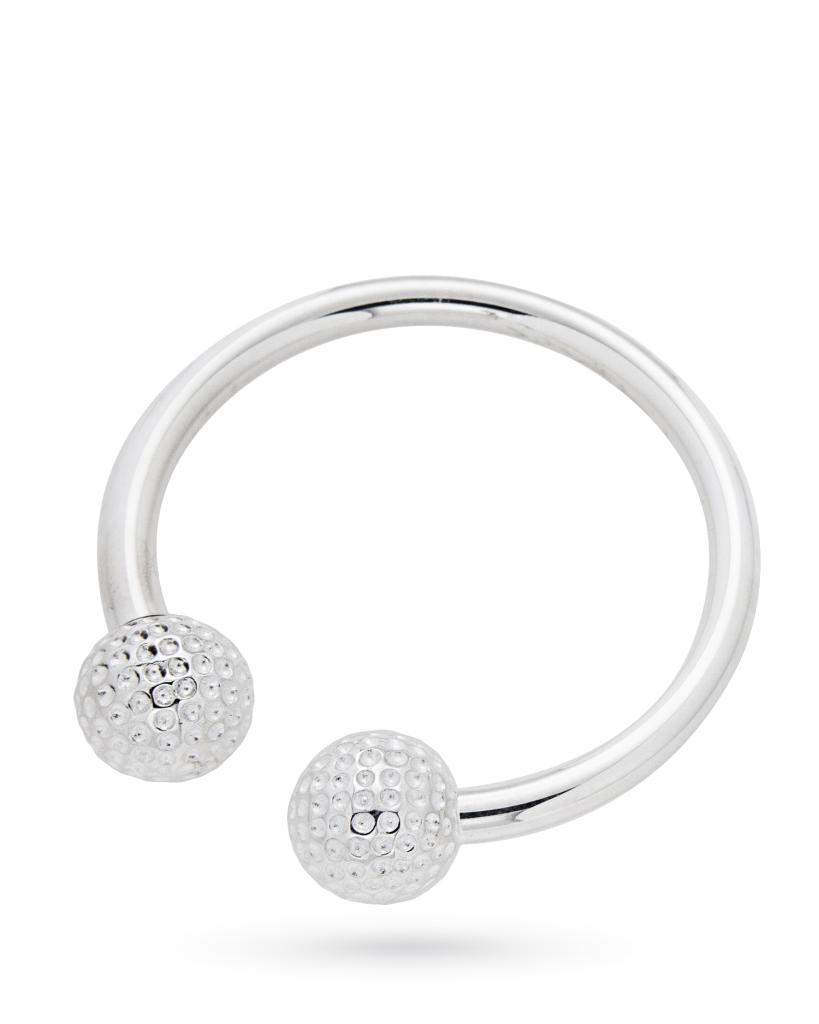 Portachiavi in argento con palline da golf - CICALA