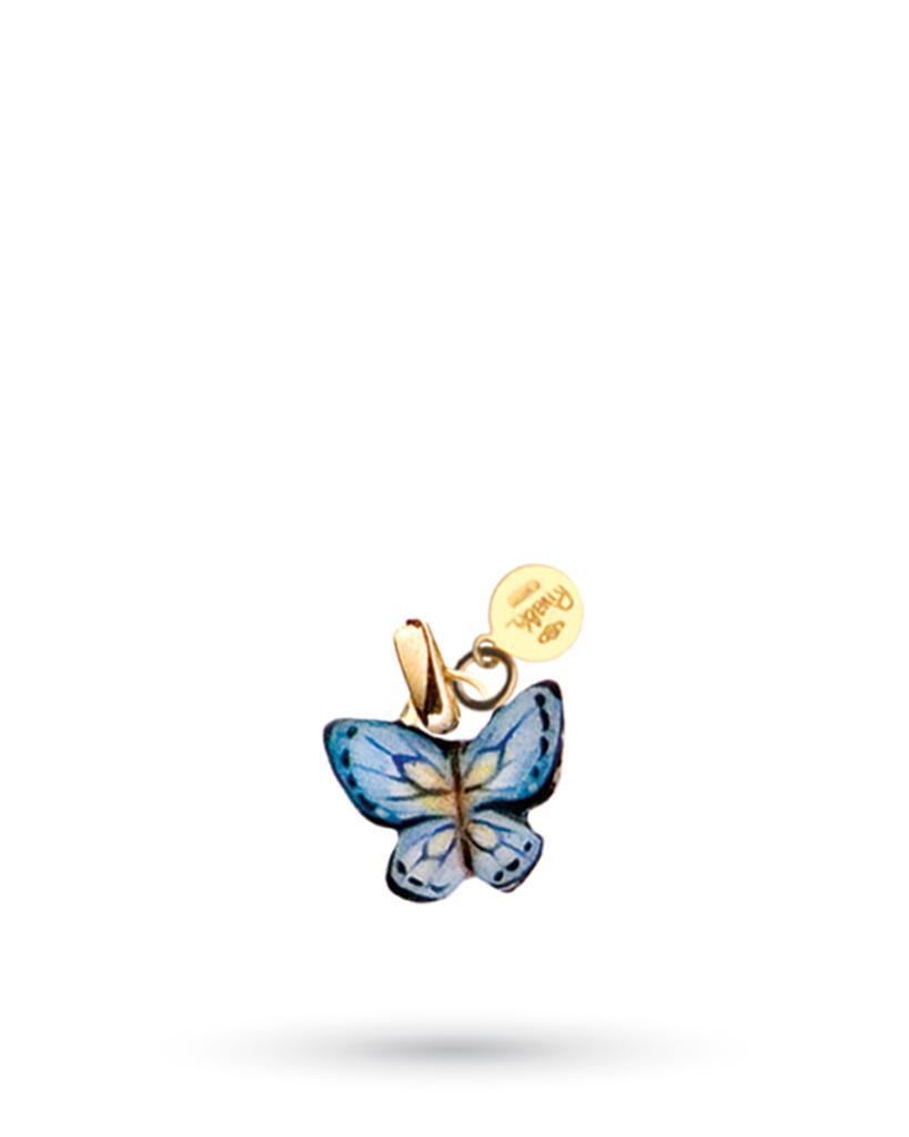 64c6fb1af2 Ciondolo Farfalla Blu di Gabriella Rivalta in rame e oro - GABRIELLA RIVALTA