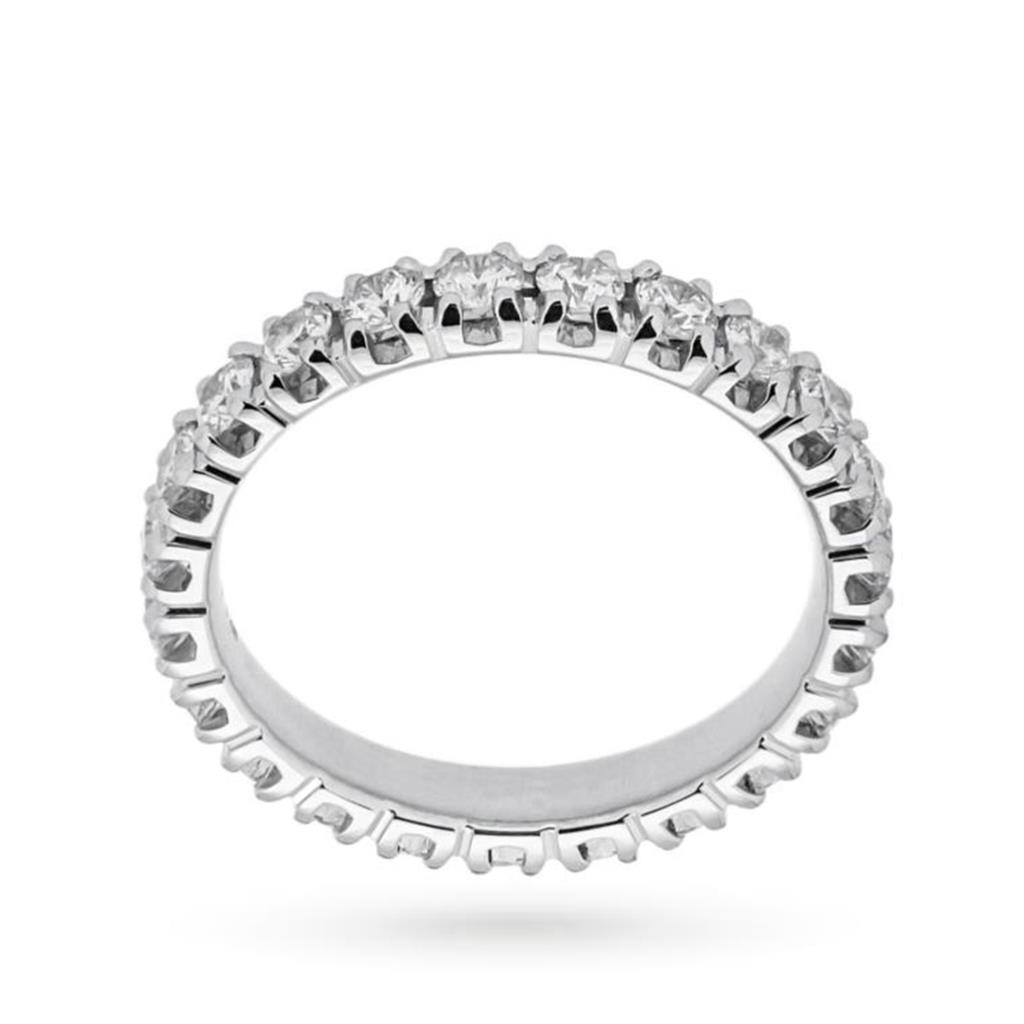Anello eternity con diamanti ct 1,48 G VS - MIRCO VISCONTI